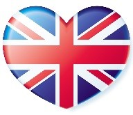 Coeur British flag